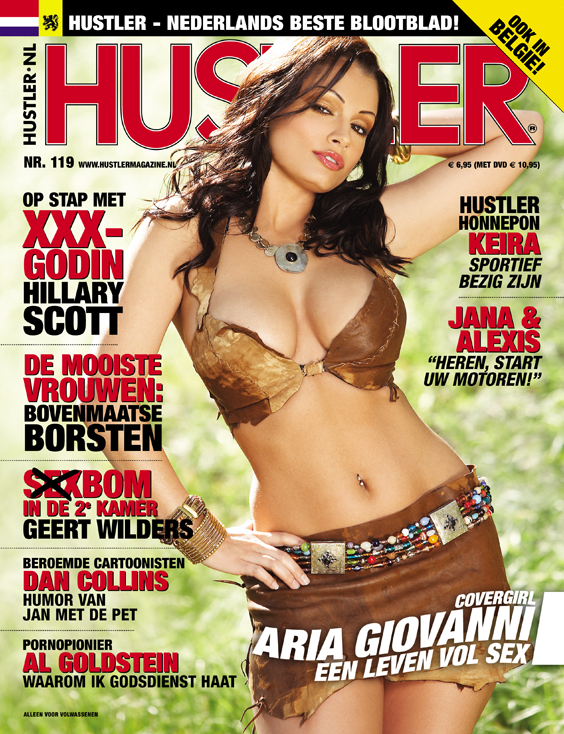 Cover Hustler Magazine 119