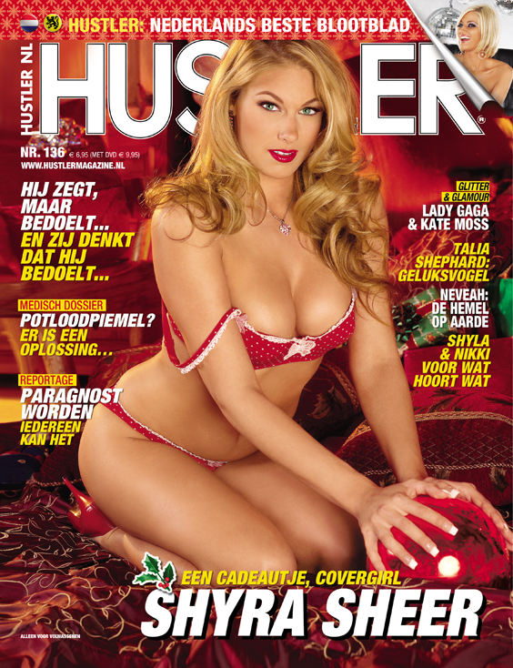 Cover Hustler Magazine 136